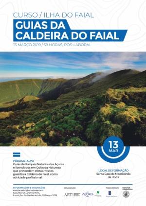 """Associação Regional de Turismo promove curso de """"Guias da Caldeira do Faial"""""""