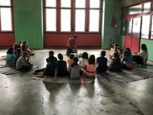 Alunos da Escola Básica António José de Ávila visitam a AHBVF