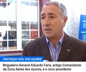 Brigadeiro-General, Piloto Aviador, Eduardo Jorge Pontes de Albuquerque Faria é o novo Presidente do SRPCBA