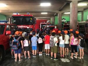 Crianças da sala CATL do Castelinho visitam a AHBVF